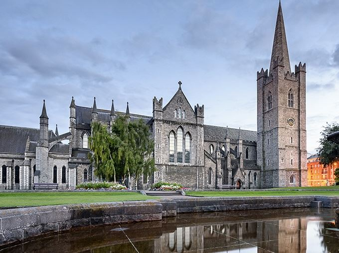 St. Patrick's Catherdral in Ireland