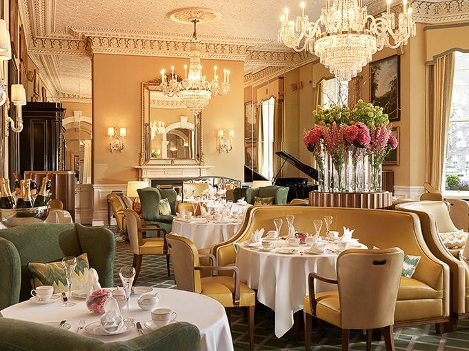 The Shelbourne Hotel, Dublin Afternoon Tea Lord Mayor Lounge