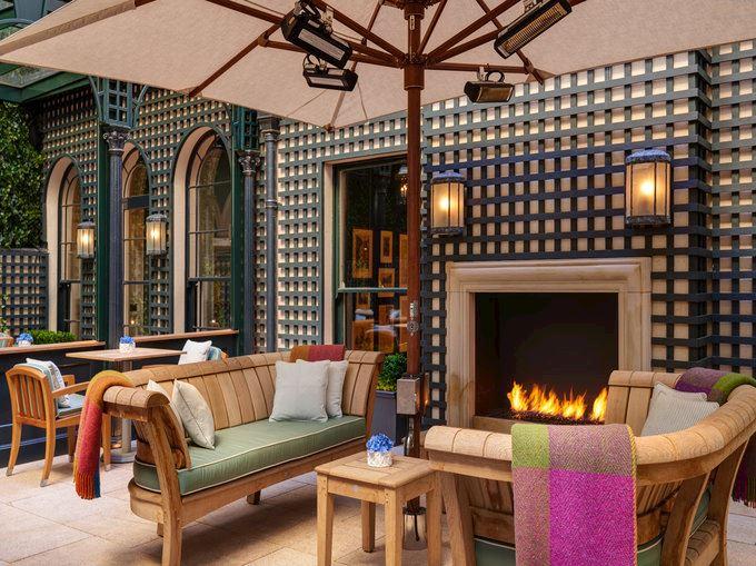 The Shelbourne Hotel, Dublin The Terrace Restaurant
