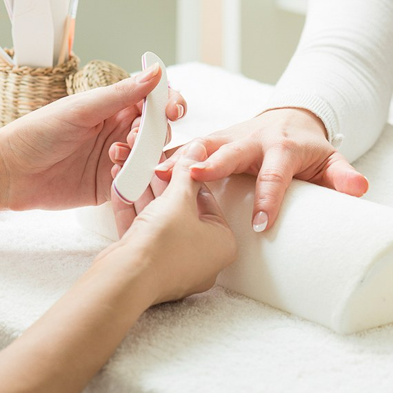 The Shelbourne Tile Salon Manicure