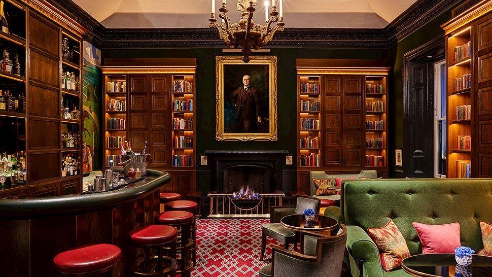 1824 Bar in The Shelbourne Hotel, Dublin