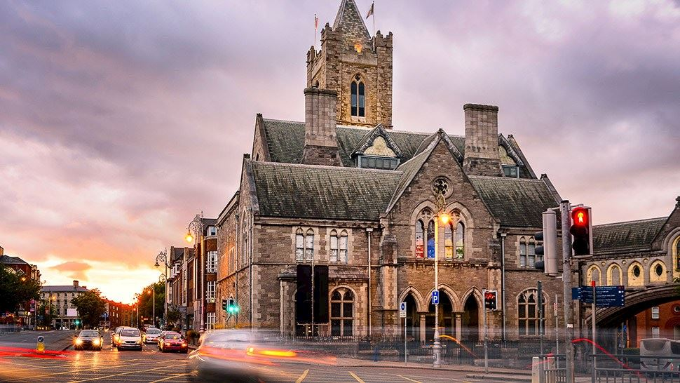 Christ Church Cathedral in Ireland