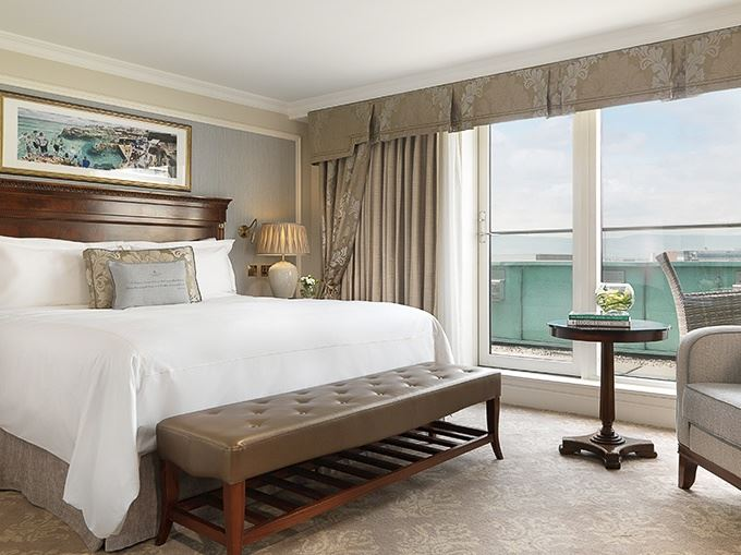 The Shelbourne Hotel, Dublin Balcony Guest Room
